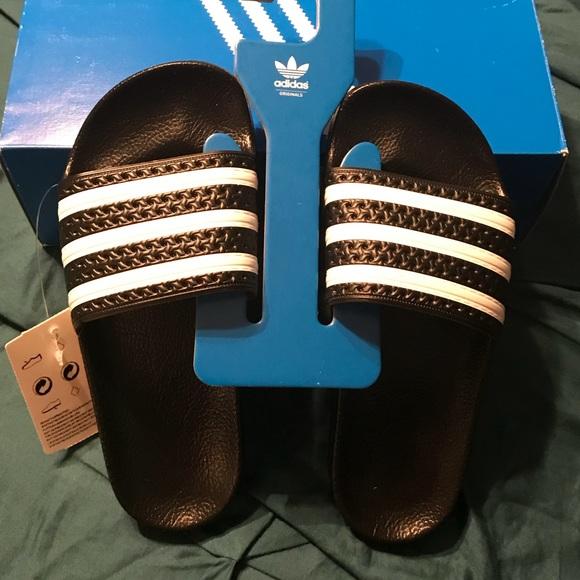 d00e58cc3da NWT   BOX Kids Youth Adidas Adilette J Slides